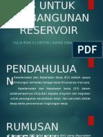 k3 Untuk Pembangunan Reservoir