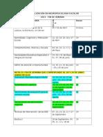 Cronograma Ene Neuropsicologia II