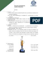 Normas Astm (Tarea No. 1)
