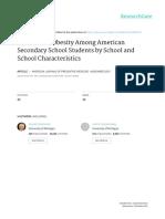 Variação Entre Escolas