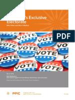 California's Exclusive Electorate