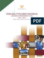 Rencana Pitalebar Indonesia 2014-2019