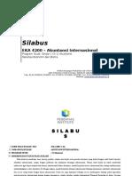 SIlabus Akuntansi Internasional Program Studi S-1 Akuntansi(1)