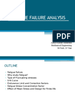 Fatigue Failure Analysis