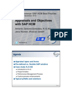 A3 Appraisals and Objectives in SAP HCM Performance Management
