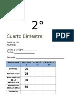 2do Grado - Bimestre 4.doc