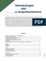 Metodología del Diseño Arquitectónico-CAO
