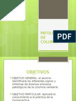Patologia de Columna 1