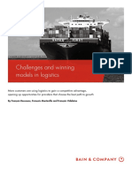 BAIN BRIEF Challenges and Winning Models in Logistics