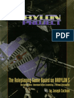 The Babylon Project Corebook