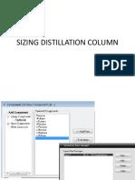 distillation column sizing