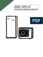 NIBE Split Manual
