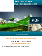 ECO 365 GUIDE Real Education-eco365guide.com