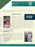 official newsletter of verbum dei luzon  no 18