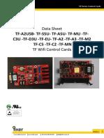 TF-Cards Datasheet