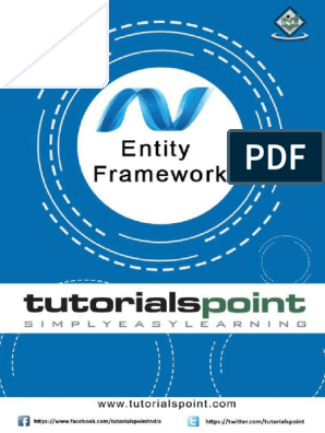 Entity Framework Tutorial | Entity Framework | Conceptual Model