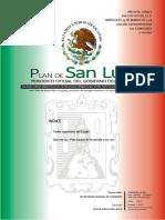 SLP Plan Estatal de Desarrollo 2015-2021