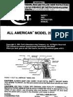 manual All American 2000