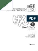 GENKI II 2nd Edition Answer Keys Workbook