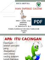 PENYULUHAN INFEKSI CACING