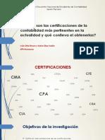 Cuáles Son Las Certificaciones de La Contabilidad Más Pertinentes en La Actualidad- Iván Ortiz y Kelvin Díaz