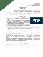Aviz de Constituire a Adunării Generale a Acționarilor
