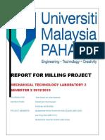 reportformillingproject
