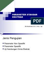 Parameter Standar Ekstrak Rev