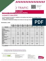 Ligne Tours-Blois-Orléans-Paris