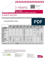 Ligne Orleans-Vierzon-Argenton Sur Creuse (Limoges)
