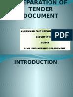 bagaimana untuk menyediakan dokumen tender