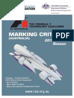 Marking Criteria 2014 v1.0