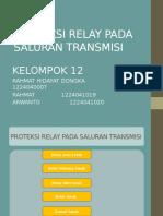 Proteksi Relay Pada Saluran Transmisi