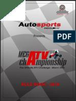 Mega Atv Championship Rules
