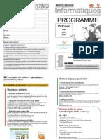 Programme Mai-Juin 2010