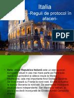 Protocol În Afaceri-Italia