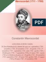 Constantin Mavrocordat (1711 - 1769)