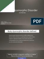 Body Dysmorphic Traynor