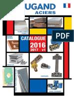 catalogue lugan d'aciers 2016