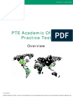 Overview PTEA Practice Test