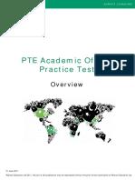 Overview PTEA Practice Test