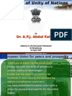 Dynamics of Unity of Nations