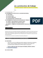 HERRAMIENTAS Y PROTOCOLOS DE TRABAJO