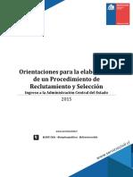 3.Orientaciones Para La Elaboración de Un Procedimiento de Reclutamiento y Selección (1)