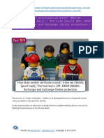 How does sender verification work -How we identify Spoof mail) SPF, DKIM DMARC, Exchange - Part 9#9.pdf