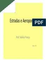 Estradas e Aeroportos Aula -02