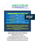 Three Aspects of the Law