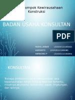 Badan Usaha Konsultan