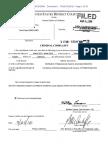 Complaint against David Ryan Burchard