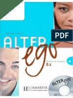 Alter Ego 4 Méthode de Français B2